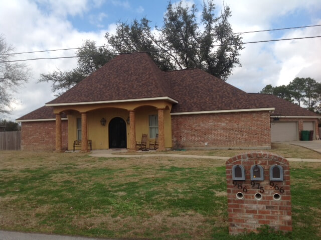 hail damage roof replacement lake charles la