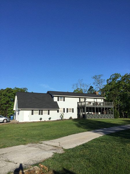 Replaced-old-three-tab-roof-with-new-GAF-timberline.-