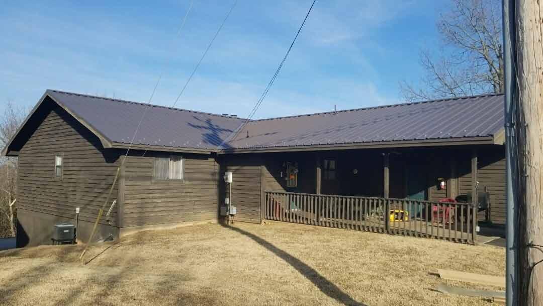 Roofs at Notch Estate in Branson Missouri