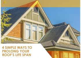 4 Simple Ways to Prolong Your Roof's Life Span