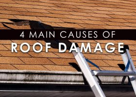 4 Main Causes of Roof Damage