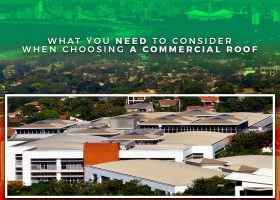 What You Need to Consider When Choosing a Commercial Roof