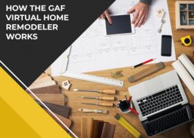 How the GAF Virtual Home Remodeler Works